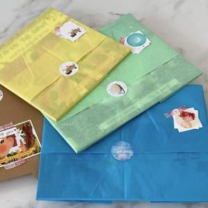Gift wrapped books option